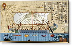 Ship Of Fools Acrylic Print