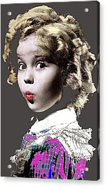 Shirley Temple Publicity Photo Circa 1935-2014 Acrylic Print