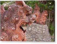 Shisa, Or Okinawan Lion Gods Acrylic Print