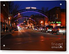 D8l353 Short North Arts District In Columbus Ohio Photo Acrylic Print