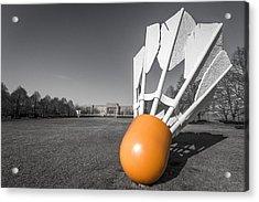 Shuttlecock Acrylic Print