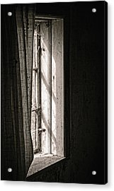 Shying From The Light Acrylic Print by Odd Jeppesen