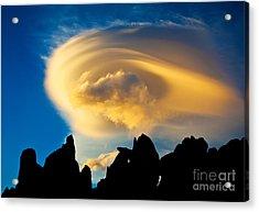 Sierra Wave Cloud Acrylic Print