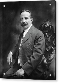 Sigard Knopf Acrylic Print by National Library Of Medicine