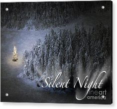 Silent Night Acrylic Print