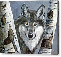 Silent Watcher Acrylic Print