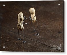 Simple Things - Apart Acrylic Print by Nailia Schwarz