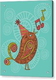 Singing Bird Acrylic Print