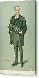 Sir William Crookes (1832-1919) Acrylic Print by Granger