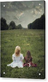Sisters Acrylic Print by Joana Kruse