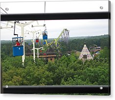 Six Flags Great Adventure - 12126 Acrylic Print by DC Photographer