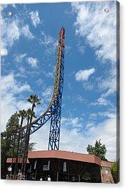Six Flags Magic Mountain - 12121 Acrylic Print by DC Photographer