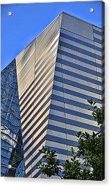 Skyscraper Abstract 4 Acrylic Print by Allen Beatty