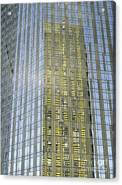 Skyscraper Reflections Acrylic Print