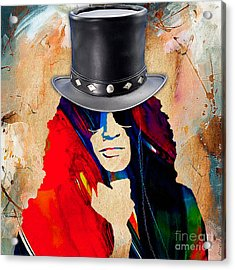 Slash Collection Acrylic Print by Marvin Blaine