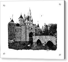 Sleeping Beauty Castle Acrylic Print