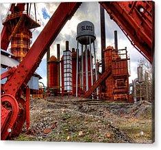 Sloss Furnace Acrylic Print