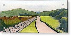 Slovenia. Kranj Acrylic Print by Lelia Sorokina