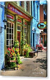 Small Town America 4 Acrylic Print