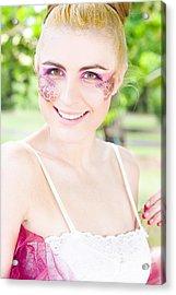 Smiling Ballerina Acrylic Print by Jorgo Photography - Wall Art Gallery