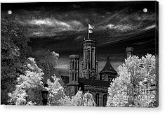 Smithsonian Castle Acrylic Print by Mike Kurec