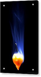 Smoking Hot Acrylic Print