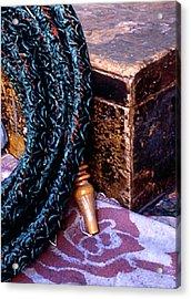Smoking Pipe Acrylic Print by Michael Fenton