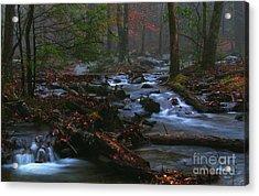 Smoky Mountain Color Acrylic Print