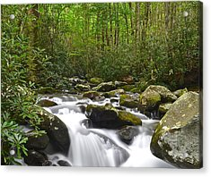 Smoky Mountain National Park Acrylic Print by Frozen in Time Fine Art Photography