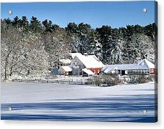 Snow Farm Acrylic Print