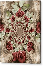 Soft Beauty Acrylic Print by Clare Bevan