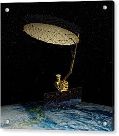 Soil Moisture Active Passive Satellite Acrylic Print
