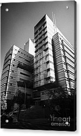 sonda it company headquarters Santiago Chile Acrylic Print by Joe Fox