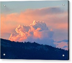Soothing Sunset Acrylic Print by Will Borden