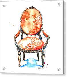 Sophia Chair Acrylic Print