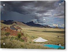 Sossusvlei Desert Lodge Acrylic Print