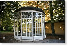 Acrylic Print featuring the photograph Sound Of Music Gazebo by Silvia Bruno