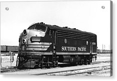 Southern Pacific Locomotive Acrylic Print by Underwood Archives