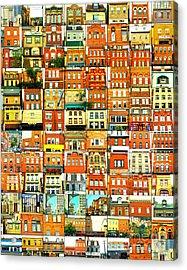 Southside Pittsburgh Acrylic Print