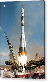 Soyuz Tma-13 Launch Acrylic Print