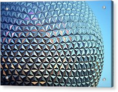 Acrylic Print featuring the photograph Spaceship Earth by Cora Wandel