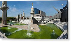 Spain Industrial Park, Barcelona Acrylic Print