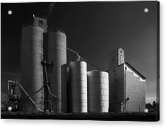 Spangle Grain Elevator Acrylic Print