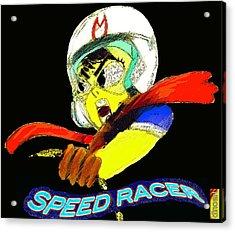 Speed Racer Acrylic Print by Jazzboy