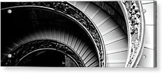 Spiral Staircase, Vatican Museum, Rome Acrylic Print