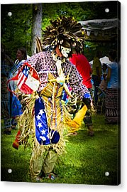Spirit Dancer Acrylic Print by Andrea Floyd