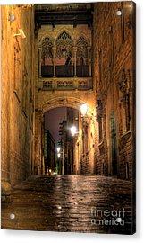 Spirit Of Gaudi Acrylic Print by Erhan OZBIYIK