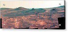 Spirit Of St. Louis Crater Acrylic Print