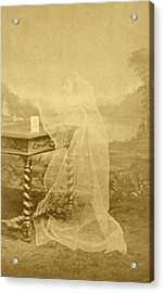 Spirit Photograph Acrylic Print by American Philosophical Society