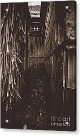 Spooky Early Settlers Rundown Country House Acrylic Print by Jorgo Photography - Wall Art Gallery